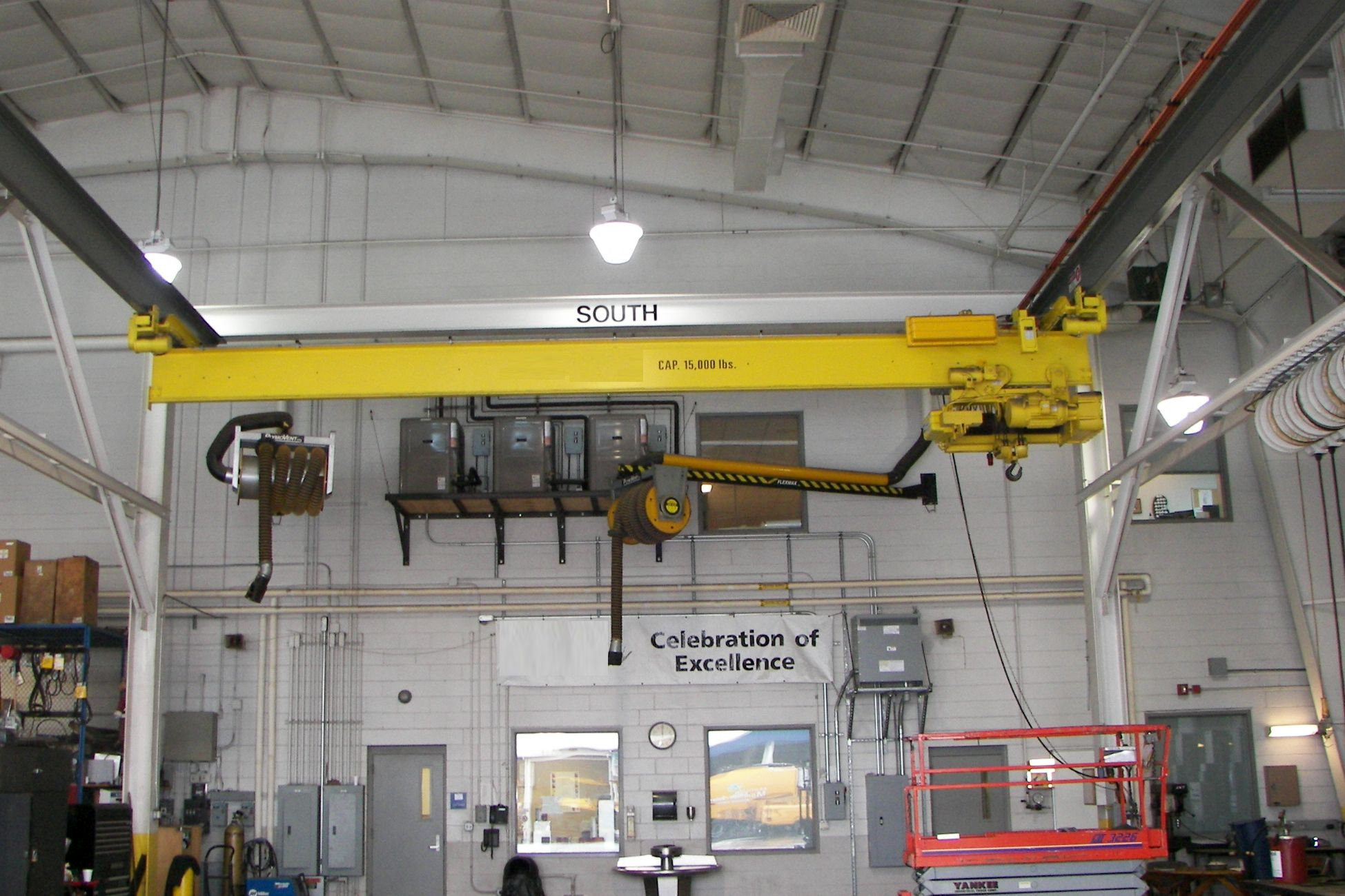 Overhead Crane Failure : Services for the insurance industry roaring brook